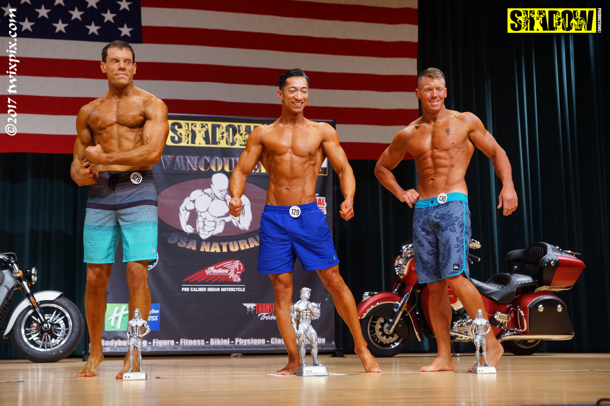 2017 Vancouver USA Natural Championships - Bodybuilding
