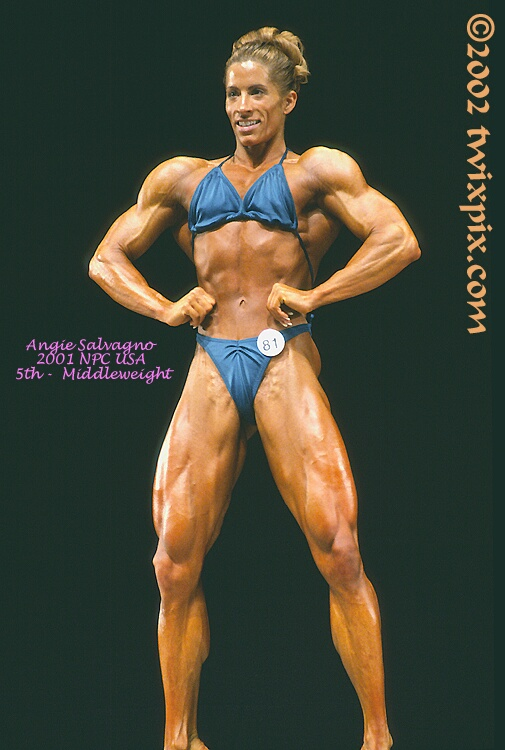 2001 NPC USA Bodybuilding & Fitness - Angie Salvagno