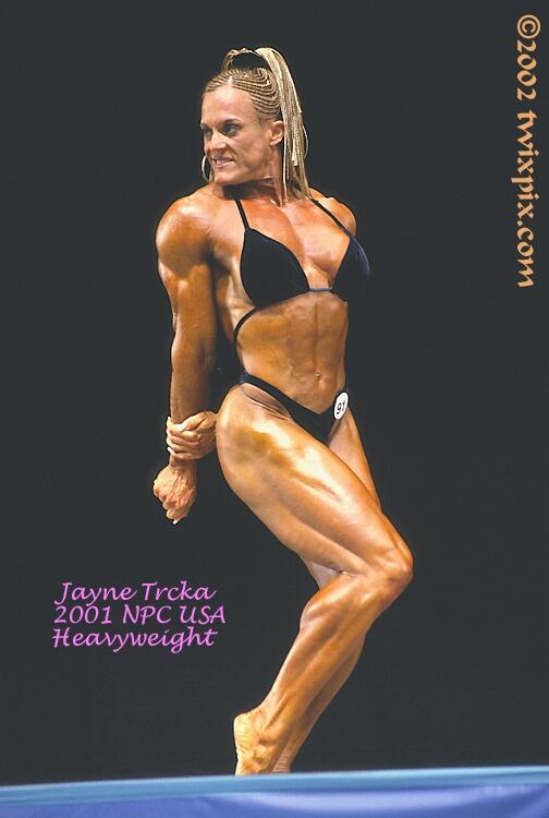 2001 NPC USA Bodybuilding & Fitness - Jayne Trcka.