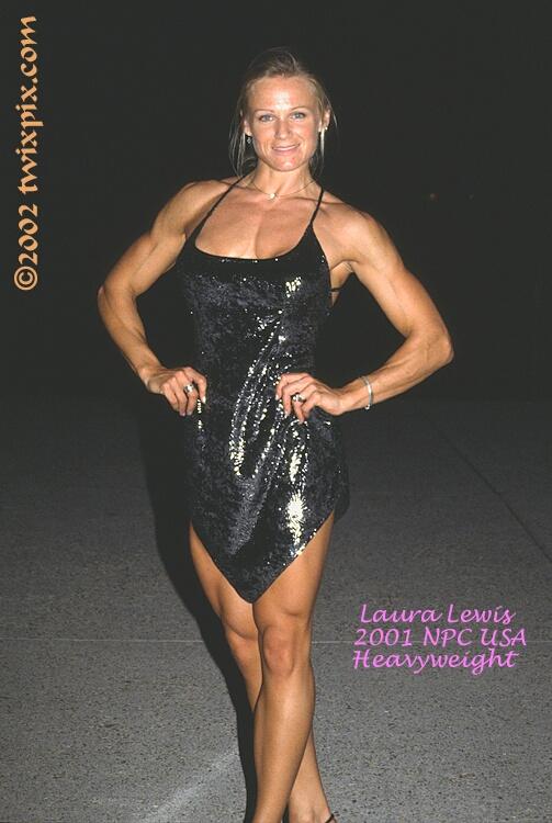2001 NPC USA Bodybuilding & Fitness - Laura Lewis